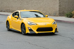 Scion FR-S car on display Stock Photography