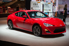 Scion FR-S at the Chicago Auto Show Royalty Free Stock Photo
