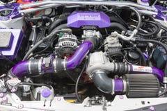 Scion FR-S Coupe silnik Zdjęcia Stock