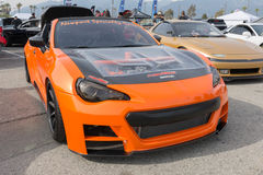 Scion FR-S on display Royalty Free Stock Image