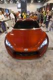 Scion FR-S Sportscar. HOUSTON - JANUARY 2012: The 2012 Scion FR-S Concept sports car at the Houston International Auto Show on January 28, 2012 in Houston, Texas Royalty Free Stock Photos