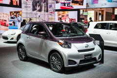 Scion iQ at the Chicago Auto Show Royalty Free Stock Photo