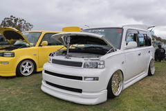 Scion xB  2006 on display Stock Images