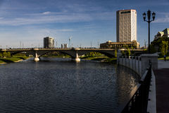 Scioto River and Downtown Columbus, Ohio Stock Photography