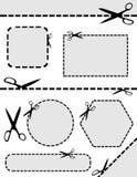 Scissor ilustração royalty free