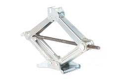 Scissor Jack Or Car Lifter. Stock Photos
