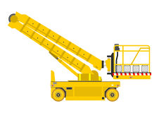 Scissor lift Royalty Free Stock Images