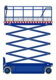Scissor lift Stock Photo