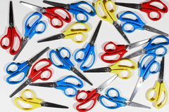 Scissors. Over white Royalty Free Stock Photos