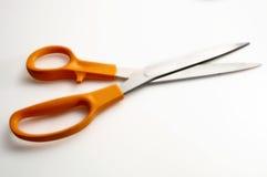 Scissors. On white stock photography