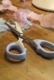 Scissors. Scrapbooking Supplies royalty free stock photos