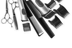 Free Scissors And Combs Stock Image - 50148241