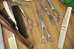 Scissors background Stock Photography