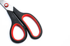 Scissors black and red color. In Stock Image
