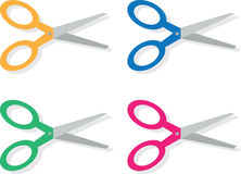 Scissors Colors Royalty Free Stock Image