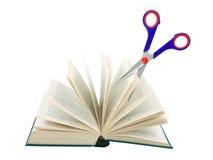 Free Scissors Cutting Book Stock Photos - 35654713