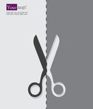 Scissors dashed Stock Photos