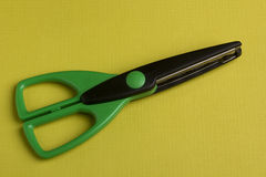 Scissors for decorative works Royalty Free Stock Photos