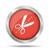 Scissors el icono Foto de archivo libre de regalías