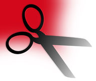 Scissors-fashion icon Royalty Free Stock Photography
