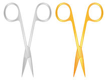 Scissors hairdresser set Royalty Free Stock Photography