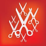 Scissors icon Royalty Free Stock Photography