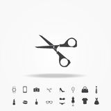 Scissors icon fashion set vector. Background vector illustration