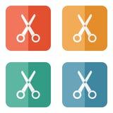 Scissors icon  Stock Images