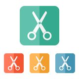 Scissors icon  Stock Photo