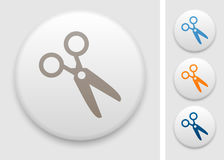 Scissors icon Royalty Free Stock Images