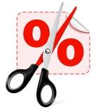 Scissors Illustartion Royalty Free Stock Photos