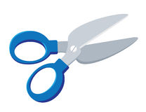 Scissors. Illustration of a scissors cartoon Royalty Free Stock Photos