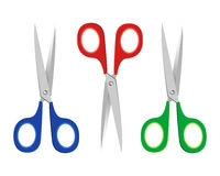 Scissors Illustration Royalty Free Stock Photo