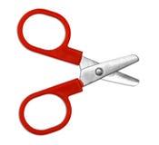 Scissors isolated Royalty Free Stock Photo