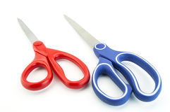 Scissors isolated. On white background Stock Photos