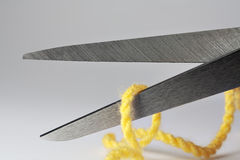 Scissors macro Royalty Free Stock Image