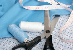 Sewing concept Royalty Free Stock Images