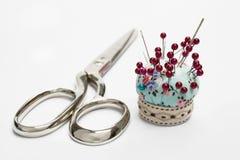 Scissors and Needle Stock Photos