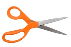 Scissors Open Stock Image