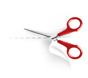 Scissors and paper Stock Photography