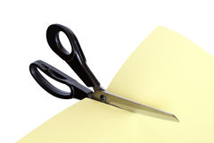 Scissors And Paper Stock Photo