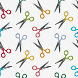 Scissors pattern Stock Photo