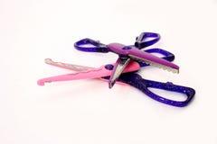 scissors scrapbooken royaltyfri fotografi