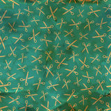 Scissors. Seamless pattern. Stock Photo