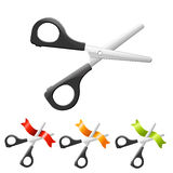 Scissors Set Royalty Free Stock Images