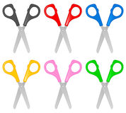 Scissors set Royalty Free Stock Photography