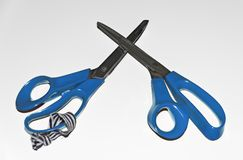 Scissors for tailoring Stock Image