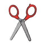Scissors tool icon Stock Photos