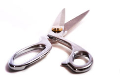 Scissors on white Stock Image