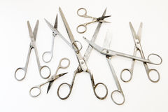 Scissors on white background Stock Photography